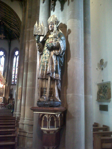 Image result for st chad statue